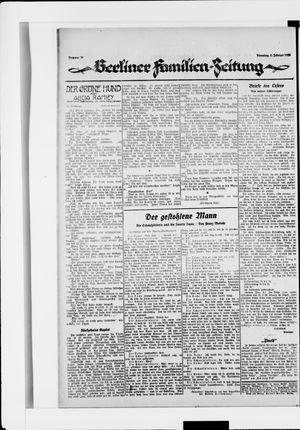 Berliner Volkszeitung vom 05.02.1924