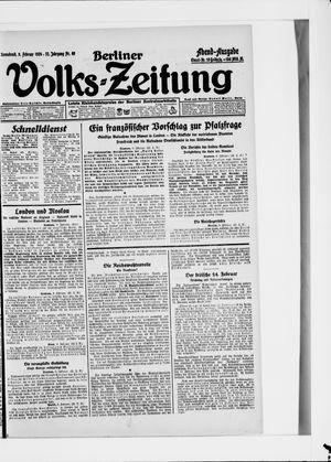Berliner Volkszeitung vom 09.02.1924
