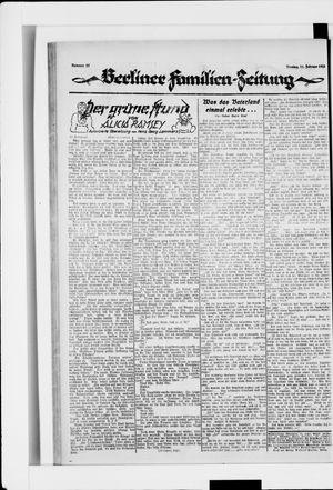 Berliner Volkszeitung vom 11.02.1924