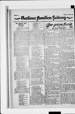 Berliner Volkszeitung vom 12.02.1924