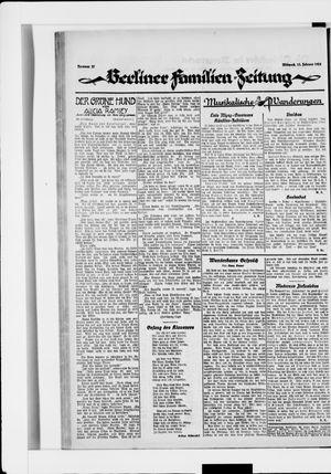 Berliner Volkszeitung vom 13.02.1924
