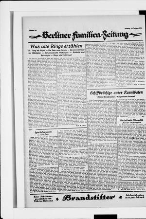 Berliner Volkszeitung on Feb 18, 1924