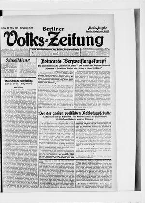 Berliner Volkszeitung vom 22.02.1924