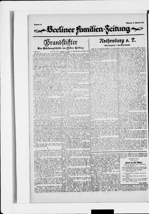 Berliner Volkszeitung vom 27.02.1924