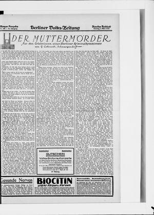 Berliner Volkszeitung vom 02.03.1924