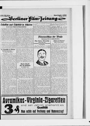 Berliner Volkszeitung vom 04.03.1924