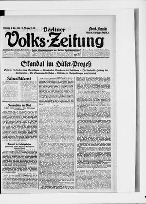 Berliner Volkszeitung vom 06.03.1924
