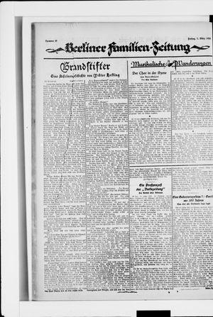 Berliner Volkszeitung vom 07.03.1924