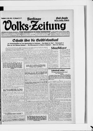 Berliner Volkszeitung vom 08.03.1924