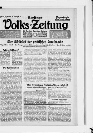 Berliner Volkszeitung vom 12.03.1924
