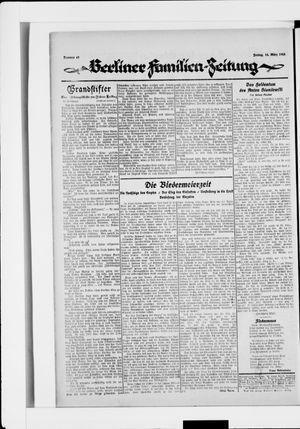 Berliner Volkszeitung vom 14.03.1924