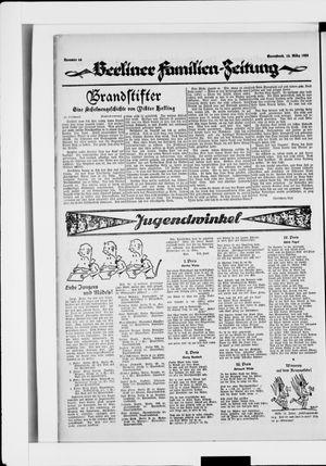 Berliner Volkszeitung vom 15.03.1924