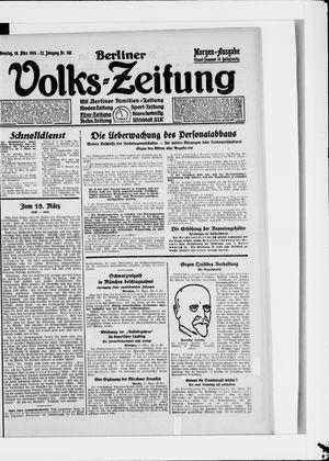 Berliner Volkszeitung vom 18.03.1924