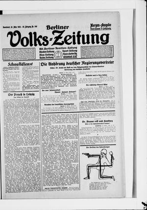 Berliner Volkszeitung on Mar 22, 1924