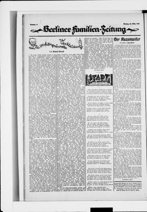 Berliner Volkszeitung vom 24.03.1924