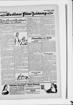 Berliner Volkszeitung vom 25.03.1924