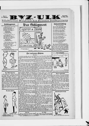 Berliner Volkszeitung vom 29.03.1924
