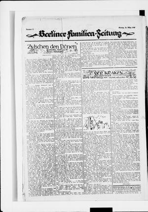 Berliner Volkszeitung vom 31.03.1924