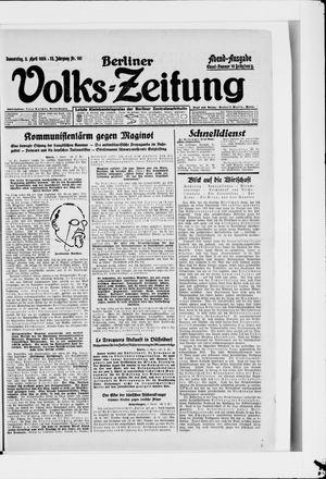 Berliner Volkszeitung vom 03.04.1924