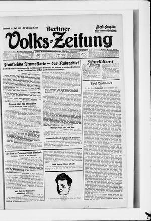 Berliner Volkszeitung vom 12.04.1924
