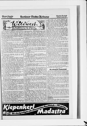 Berliner Volkszeitung vom 13.04.1924