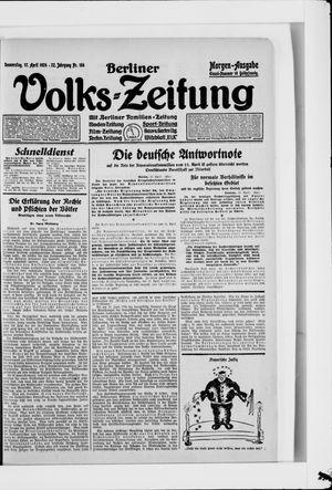 Berliner Volkszeitung vom 17.04.1924