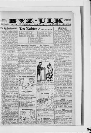 Berliner Volkszeitung on Apr 19, 1924
