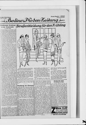 Berliner Volkszeitung vom 20.04.1924