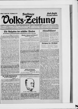 Berliner Volkszeitung vom 28.04.1924