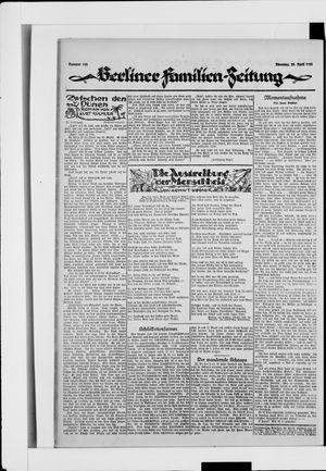 Berliner Volkszeitung vom 29.04.1924