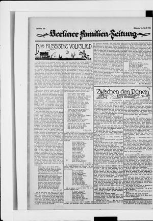 Berliner Volkszeitung vom 30.04.1924