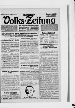 Berliner Volkszeitung vom 01.05.1924