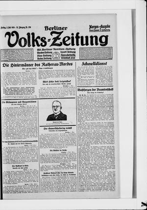Berliner Volkszeitung vom 02.05.1924