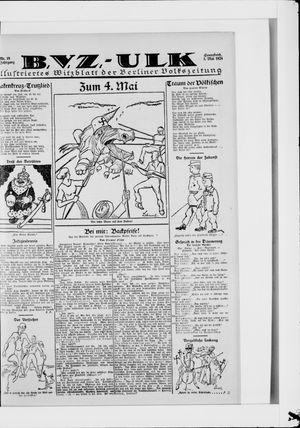 Berliner Volkszeitung on May 3, 1924