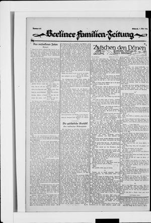 Berliner Volkszeitung vom 07.05.1924