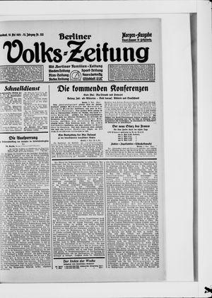 Berliner Volkszeitung vom 10.05.1924