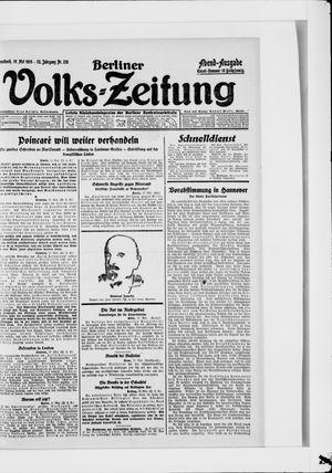 Berliner Volkszeitung vom 17.05.1924