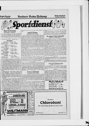 Berliner Volkszeitung vom 18.05.1924