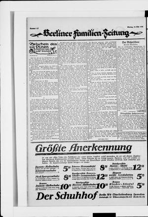 Berliner Volkszeitung vom 19.05.1924
