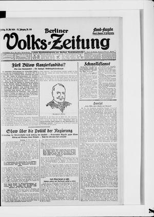 Berliner Volkszeitung on May 23, 1924