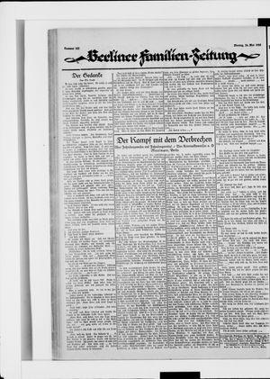 Berliner Volkszeitung vom 26.05.1924