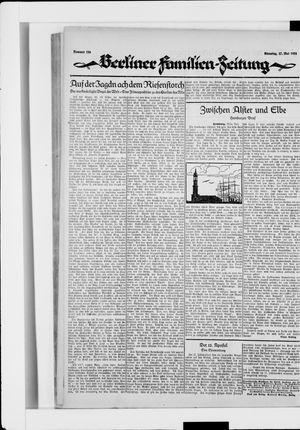 Berliner Volkszeitung vom 27.05.1924