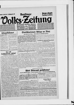 Berliner Volkszeitung vom 31.05.1924
