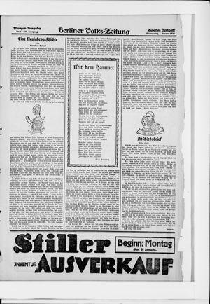 Berliner Volkszeitung vom 01.01.1925