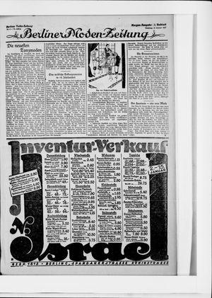 Berliner Volkszeitung vom 04.01.1925
