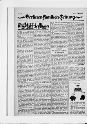 Berliner Volkszeitung vom 06.01.1925