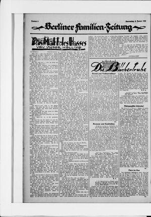 Berliner Volkszeitung vom 08.01.1925