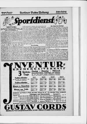 Berliner Volkszeitung vom 11.01.1925