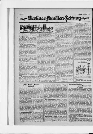 Berliner Volkszeitung vom 12.01.1925
