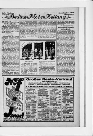 Berliner Volkszeitung vom 18.01.1925